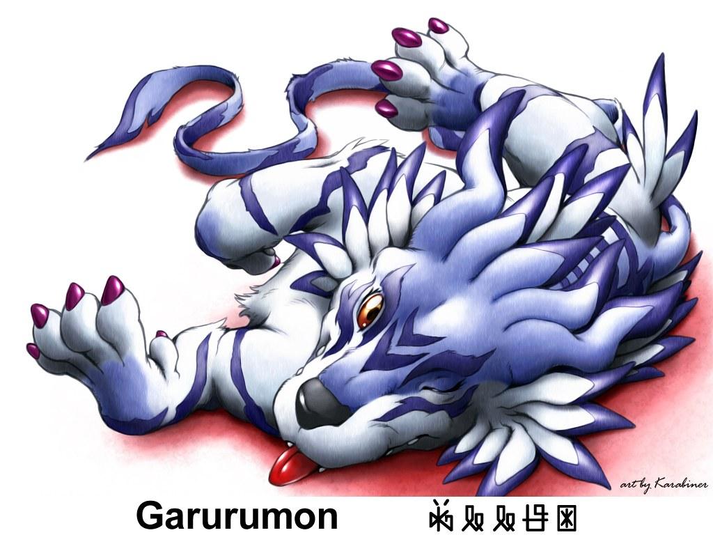 Garurumon Wallpaper